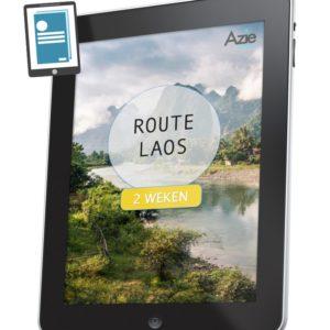 Route Laos 2 weken