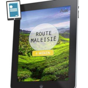 Route Maleisie 4 weken