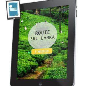 Route Sri Lanka 3 weken