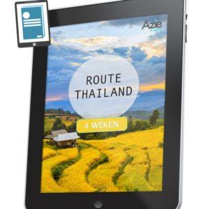 Route Thailand 4 weken