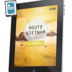 Route Vietnam 4 weken
